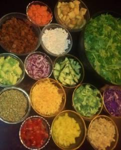 Resolve to choose salad!